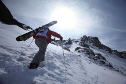 Earn your turns -- Telluride Ski Resort is famous for its advanced terrain reachable only by some steep hikes.